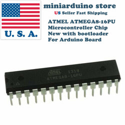 10pcs ATMEL ATMEGA8-16PU IC Microcontroller Chip ATMEGA8 MCU AVR - arduino - Business & Industrial:Electrical Equipment & Supplies:Electronic Components & Semiconductors:Semiconductors & Actives:Integrated Circuits (ICs):Other Integrated Circuits