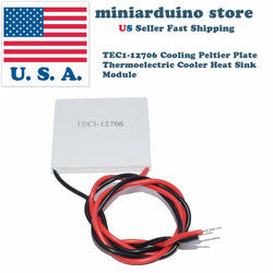 1 x TEC1-12706 Cooling Peltier Plate Thermoelectric Cooler Heat Sink Module - arduino - Business & Industrial:Electrical Equipment & Supplies:Electronic Components & Semiconductors:Thermal Management:Peltier Coolers