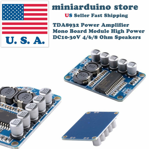 TDA8932 Digital Amplifier Board Module Mono 35W Low Power Stereo Amplifier USA - arduino - Consumer Electronics:TV, Video & Home Audio:TV, Video & Audio Parts:Amplifier Parts & Components