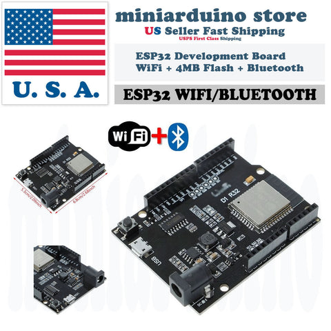 UNO R3 D1 R32 ESP32 CH340G Development Board WiFi 4MB Bluetooth USB Arduino - arduino - Business & Industrial:Electrical Equipment & Supplies:Electronic Components & Semiconductors:Semiconductors & Actives:Development Kits & Boards