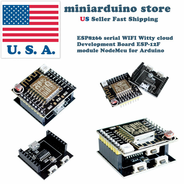 ESP8266 Mini NodeMCU serial WIFI Witty Cloud Development Board ESP-12F Arduino - arduino - Business & Industrial:Electrical Equipment & Supplies:Electronic Components & Semiconductors:Semiconductors & Actives:Development Kits & Boards