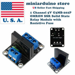 1 Channel 5V G3MB-202P OMRON SSR Solid State Relay Module Resistive Fuse Arduino - arduino - Business & Industrial:Electrical Equipment & Supplies:Relays:Solid State Relays