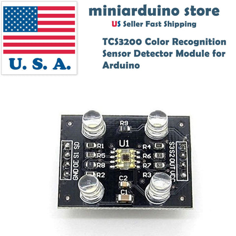 TCS230 TCS3200 Color Recognition Sensor Detector Module for MCU Arduino - arduino - Business & Industrial:Electrical Equipment & Supplies:Sensors:Other Sensors