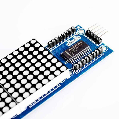 Arduino matrix green led display module max7219 5p line 8x32 4 in 1 Raspberry pi - arduino - Business & Industrial:Electrical Equipment & Supplies:Electronic Components & Semiconductors:LEDs, LCDs & Display Modules:LCD Display Modules
