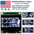 0.96″ SPI Serial 128X64 OLED LCD LED Display Module 128*64 WHITE SSD1306 Arduino - arduino - Business & Industrial:Electrical Equipment & Supplies:Electronic Components & Semiconductors:LEDs, LCDs & Display Modules:LCD Display Modules