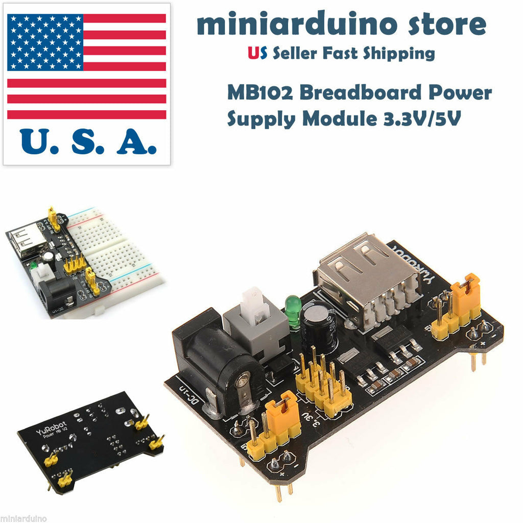 MB102 Breadboard Power Supply Module 3.3V 5V Solderless For Arduino - arduino - Business & Industrial:Electrical Equipment & Supplies:Electrical Tools:Electronics Tweezers