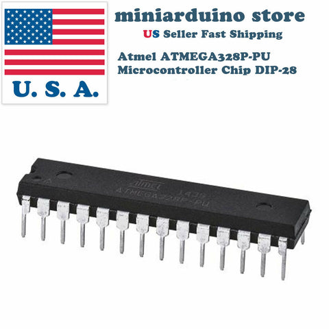 10 x ATmega328P-PU IC Atmel Chip ATmega328 DIP28 MCU Arduino ICS - arduino - Business & Industrial:Electrical Equipment & Supplies:Electronic Components & Semiconductors:Semiconductors & Actives:Integrated Circuits (ICs):Other Integrated Circuits