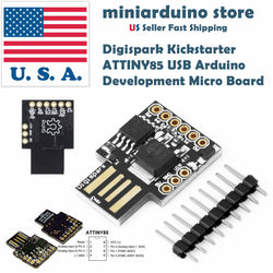 1 x Mini Digispark Kickstarter ATTINY85 USB Development Micro Board Arduino - arduino - Business & Industrial:Electrical Equipment & Supplies:Electronic Components & Semiconductors:Other Electronic Components
