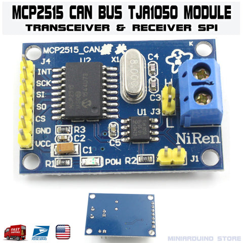 MCP2515 Module CAN Bus TJA1050 Receiver Transceiver SPI Arduino - arduino - Business & Industrial:Electrical Equipment & Supplies:Sensors:Other Sensors