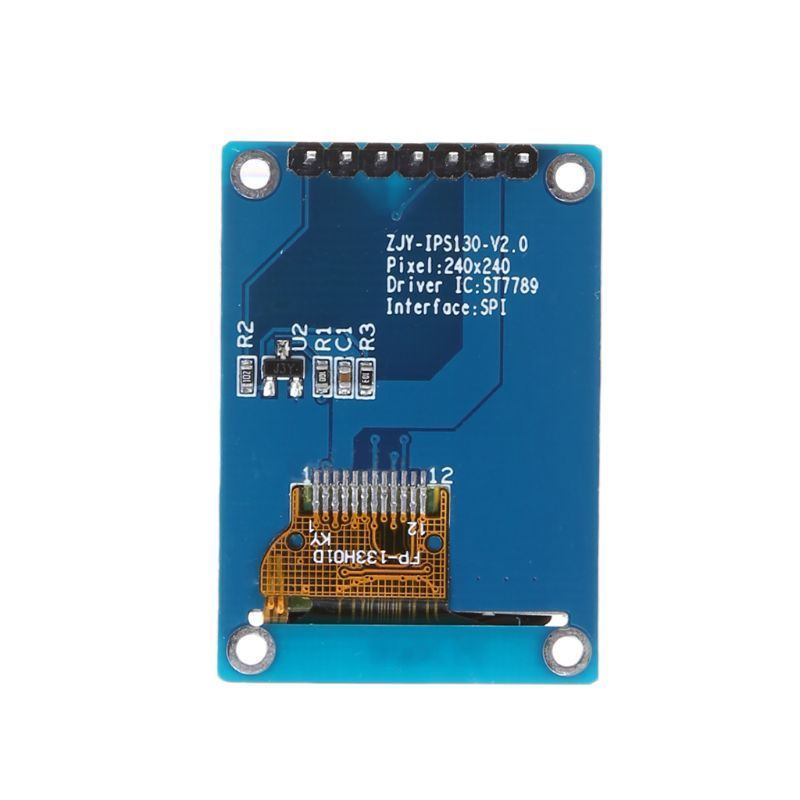 "1.3"" TFT Color IPS Display Module SPI ST7789 240x240 Arduino LCD - arduino - Business & Industrial:Electrical Equipment & Supplies:Electronic Components & Semiconductors:LEDs, LCDs & Display Modules:LCD Display Modules"