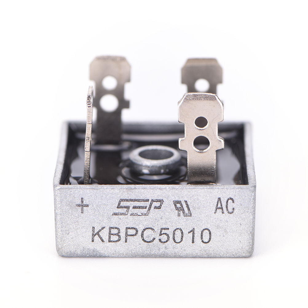 10pcs KBPC5010 Diode Bridge Rectifier Single Phase Metal Case 1000V 50A - arduino - Business & Industrial:Electrical Equipment & Supplies:Electronic Components & Semiconductors:Semiconductors & Actives:Diodes:Other Diodes
