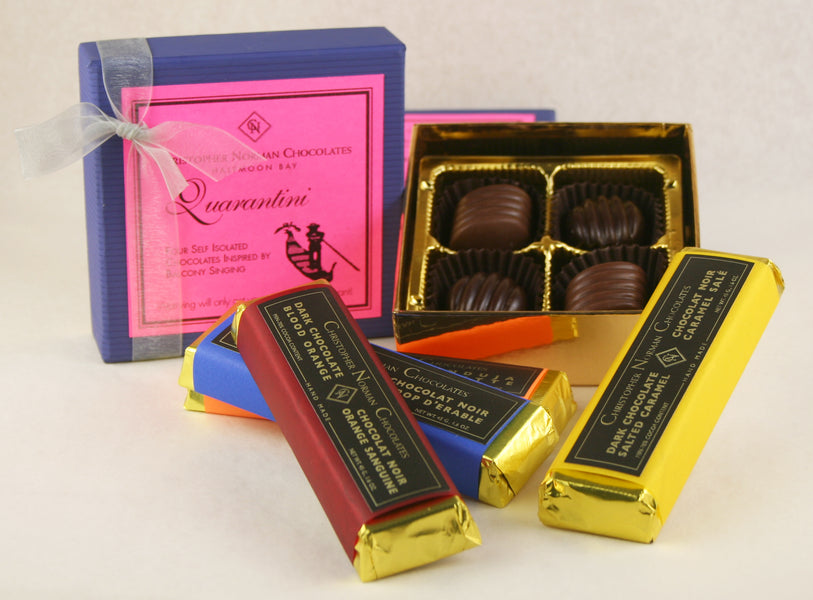 Quarantini Collection: Self-Isolated Chocolates to Cope with Social Distancing