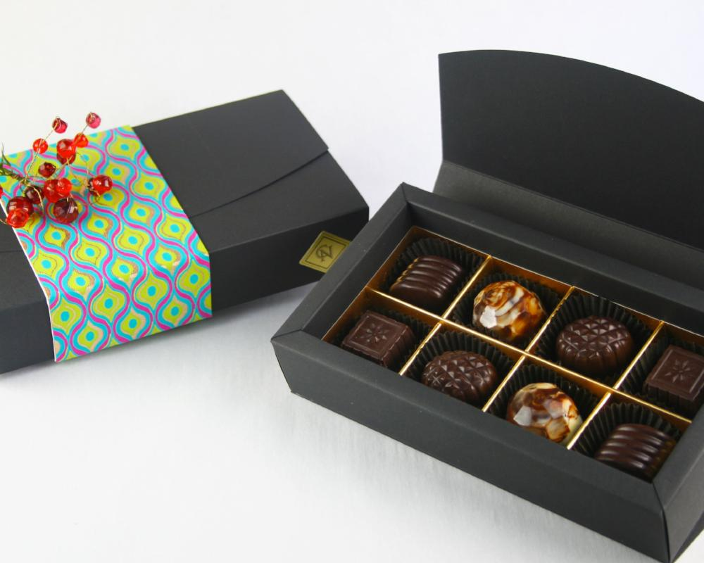 8 pieces luxury chocolate box by Christopher Norman