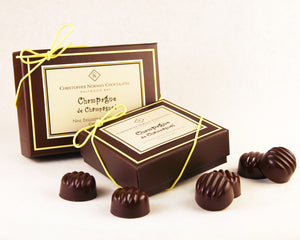 Champagne Chocolate Truffles - Box of 9 pieces