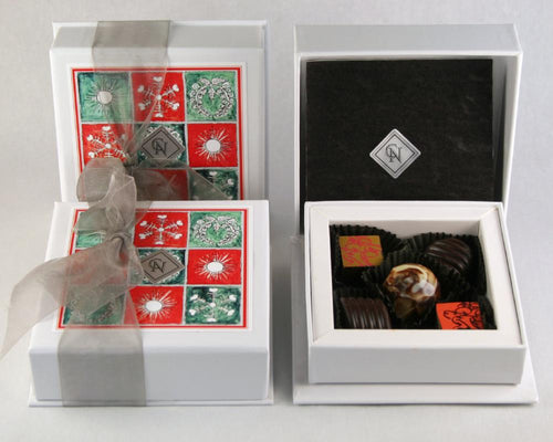 Christmas 5 Piece Chocolate Box