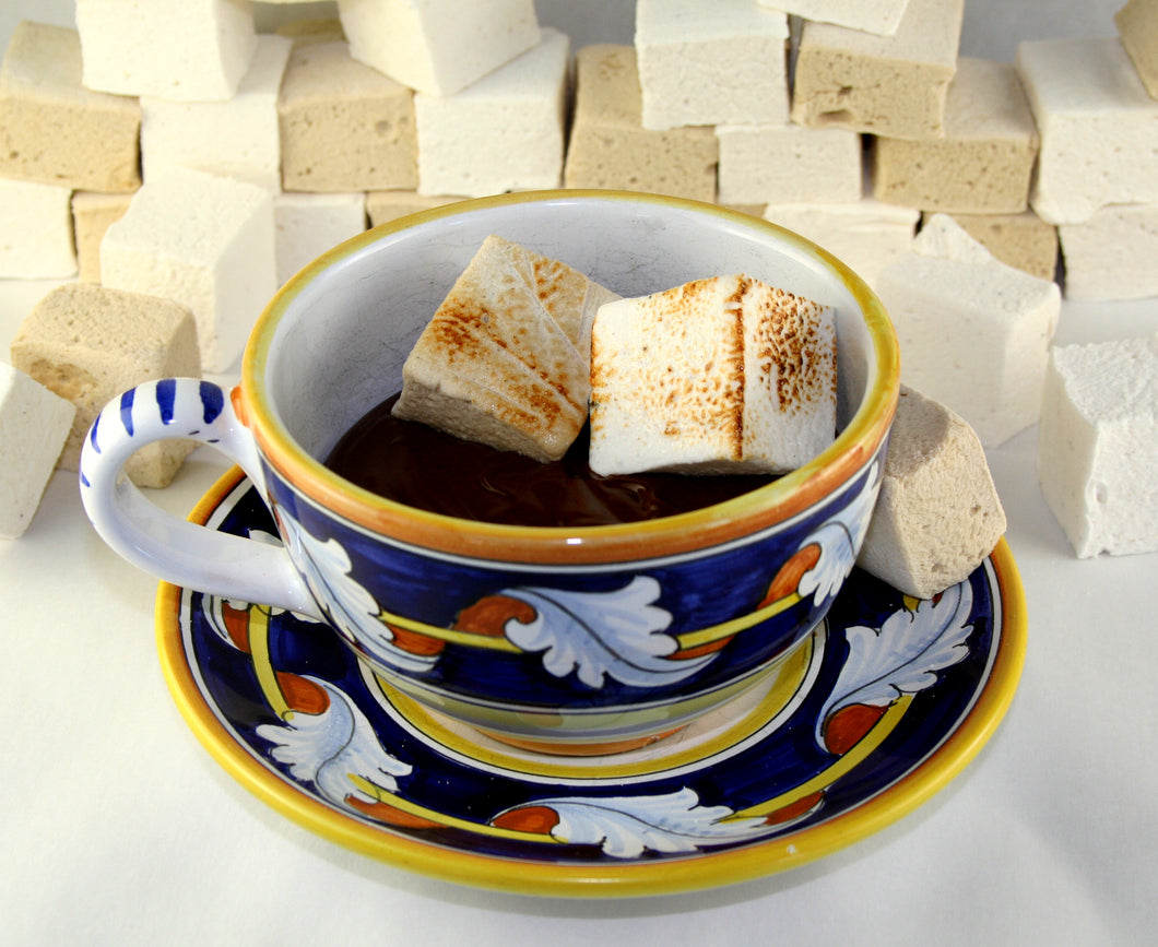 roasted marshmallows hot chocolate by christopher norman chocolates