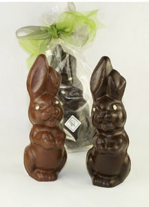 Large Laughing Bunnies [Dark and Milk Chocolate]