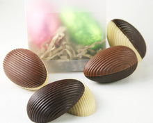 Load image into Gallery viewer, Harlequin Twister Easter Eggs with packaging