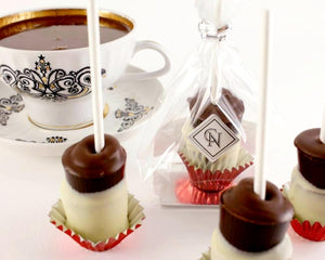Hot Chocolate stir sticks by Christopher Norman Chocolates