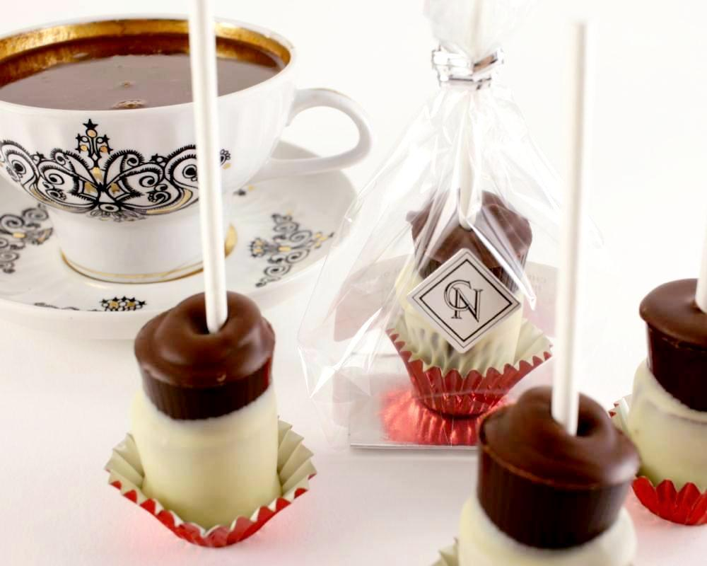 Hot Chocolate Stir Sticks - Set of 4