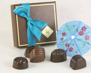 Quarantini Collection: 5 Piece Summer Box of Chocolates by Christopher Norman Chocolates, Halfmoon Bay BC