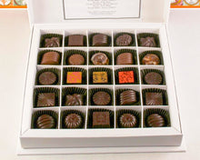 Load image into Gallery viewer, 25 Pieces Gift Box of Chocolates by Christopher Norman Chocolates.