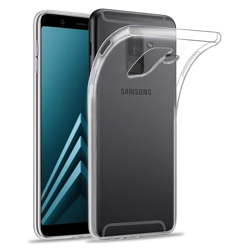 Transparent Gel Case for Samsung J6