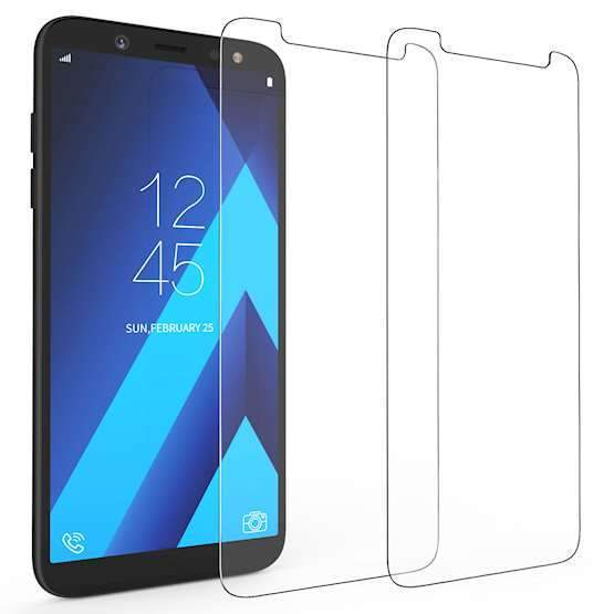 Premium Tempered Glass-Screen Protector for Samsung A6+ 2018