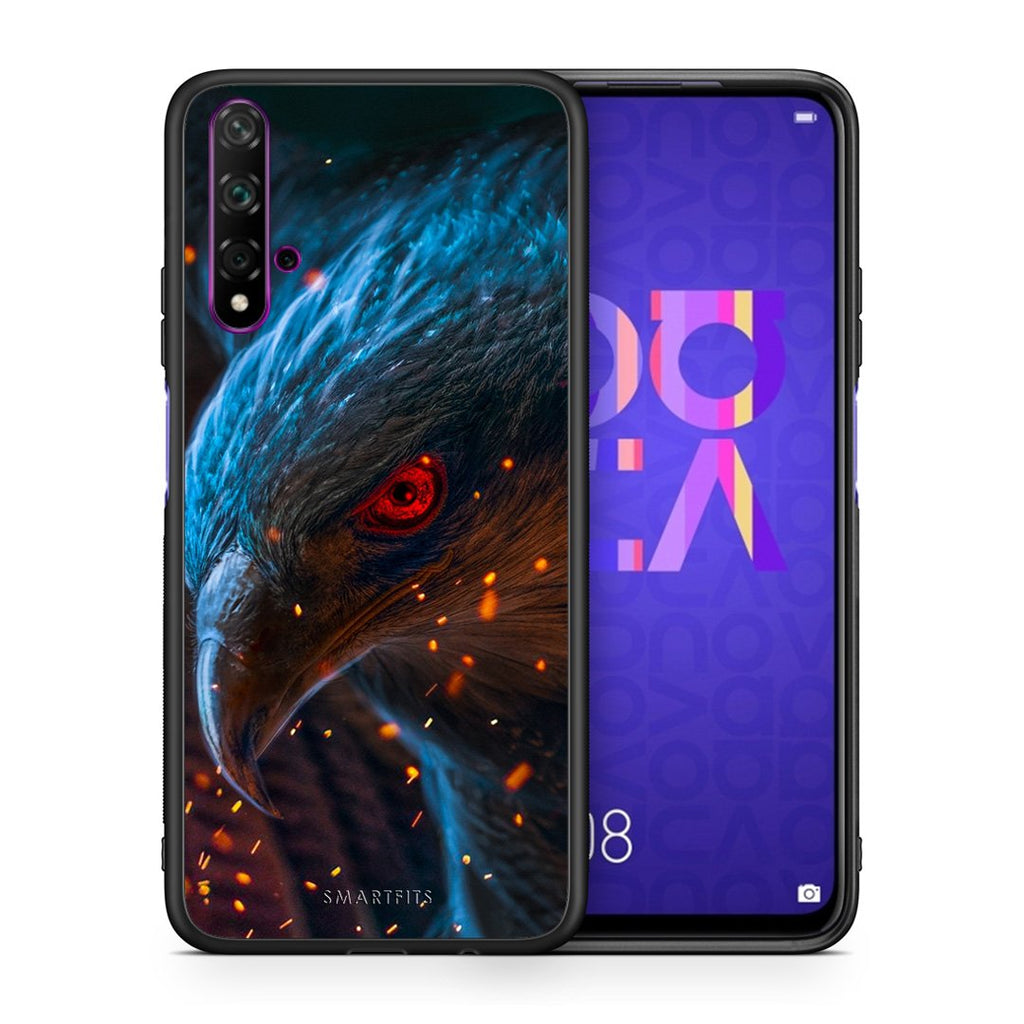 PopArt Eagle - Huawei Nova 5T/Honor 20 Case +FREE Ring Holder