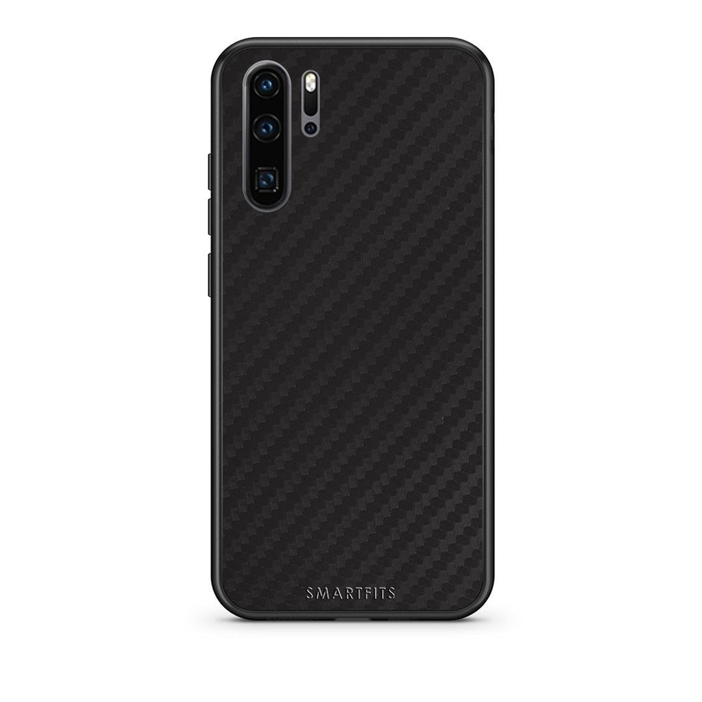 0 - Huawei P30 Pro  Black Carbon case, cover, bumper