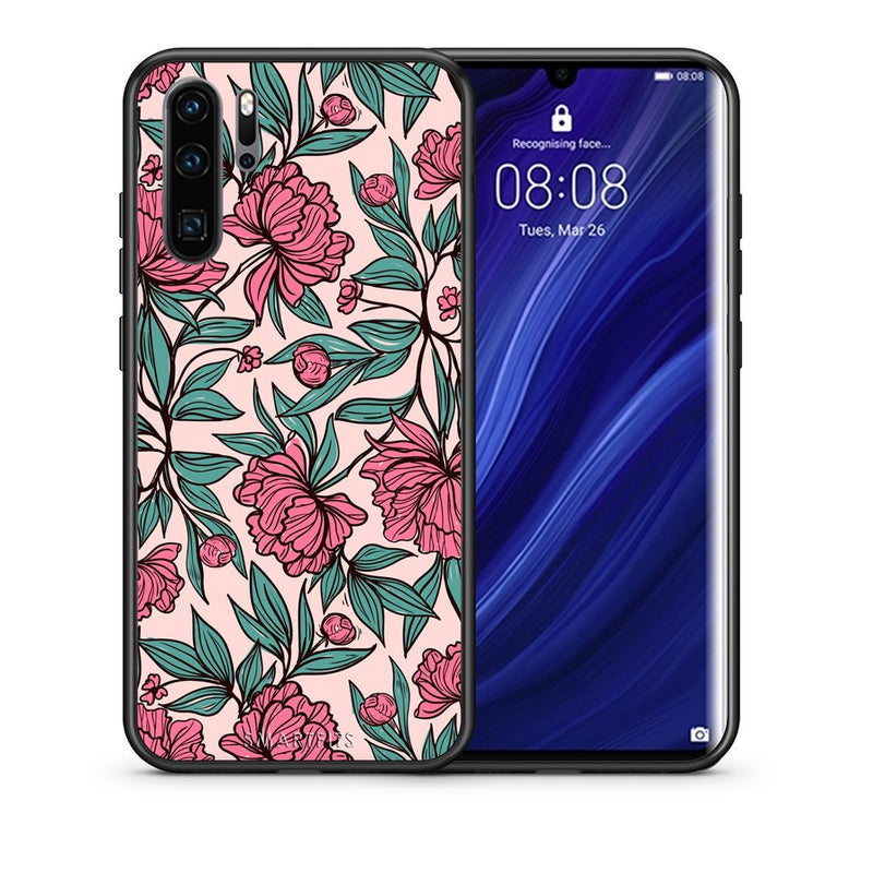 Flower Paint - Huawei P30 Pro Case +FREE Ring Holder