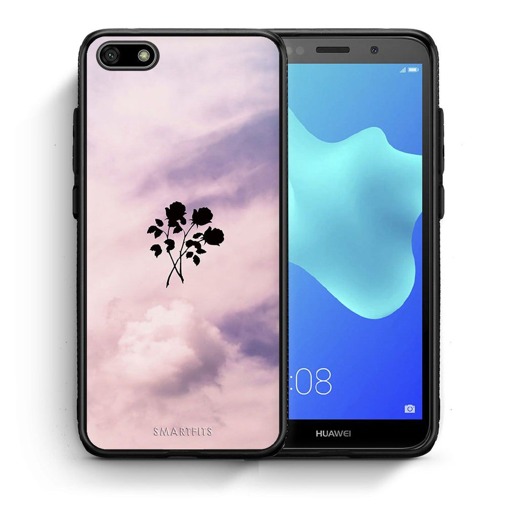 Flower Sky - Huawei Y5 2018/Honor 7S Case +FREE Ring Holder