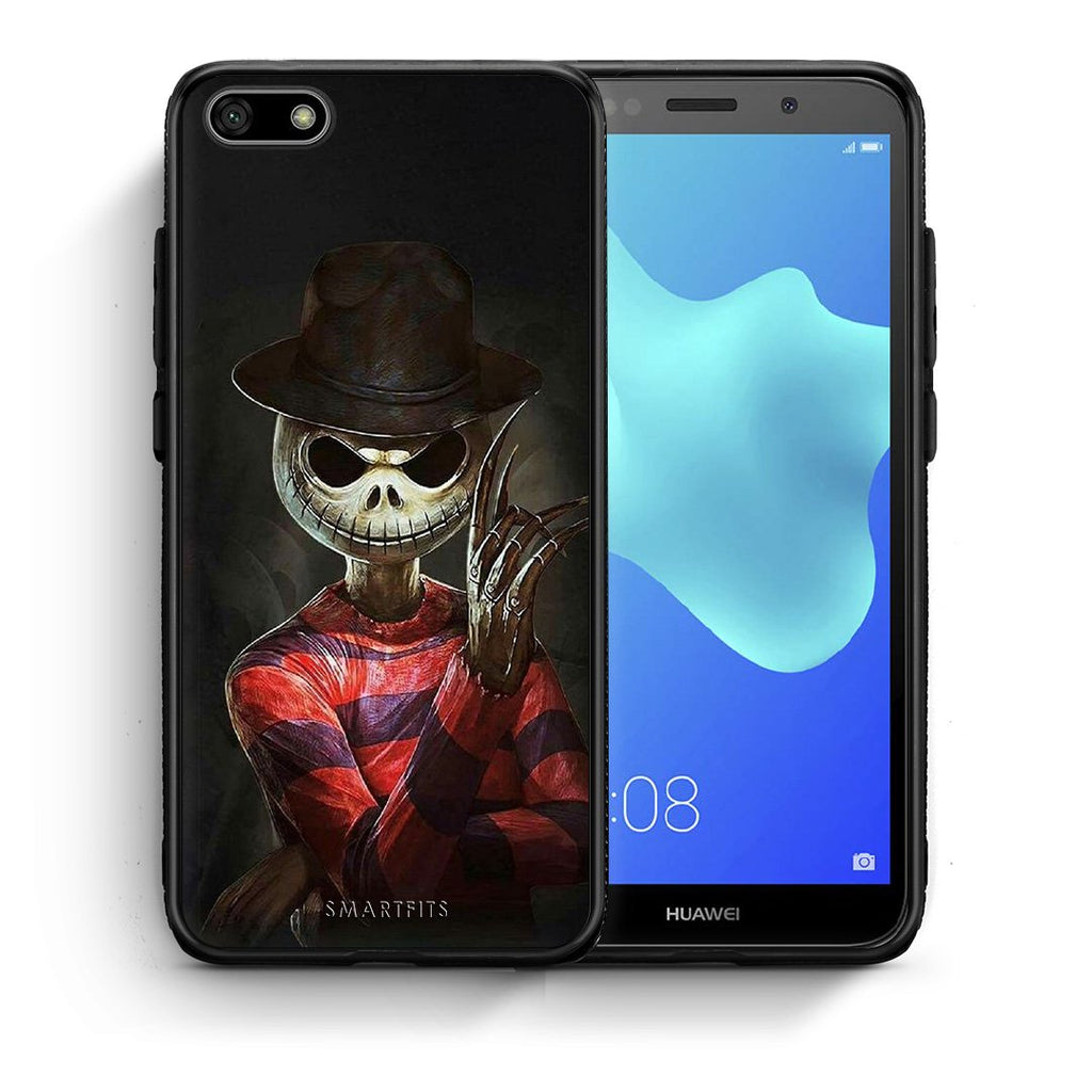Halloween Jack - Huawei Y5 2018/Honor 7S Case +FREE Ring Holder