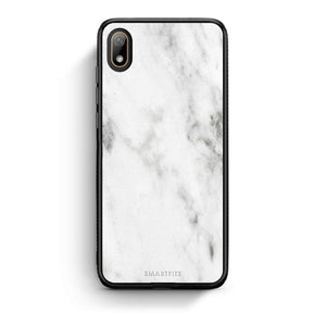 2 - Huawei Y5 2019 White marble case, cover, bumper