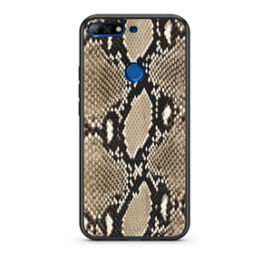 23 - Huawei Y7 2018 Fashion Snake Animal case, cover, bumper