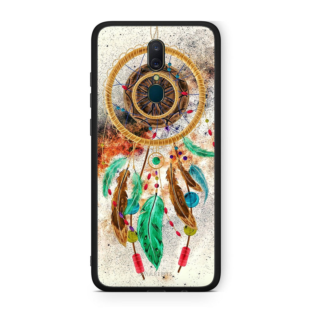 4 - Oppo A9 DreamCatcher Boho case, cover, bumper