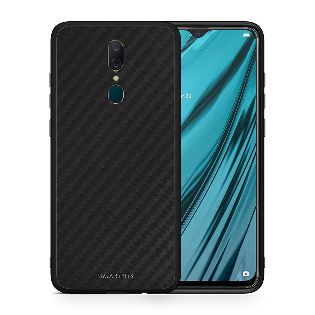 0 - Oppo A9  Black Carbon case, cover, bumper