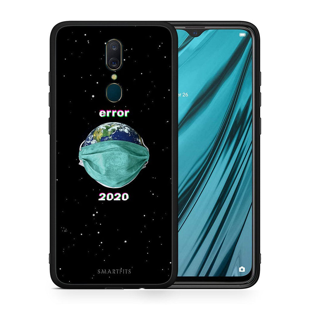 4 - Oppo A9 Earth Corona case, cover, bumper