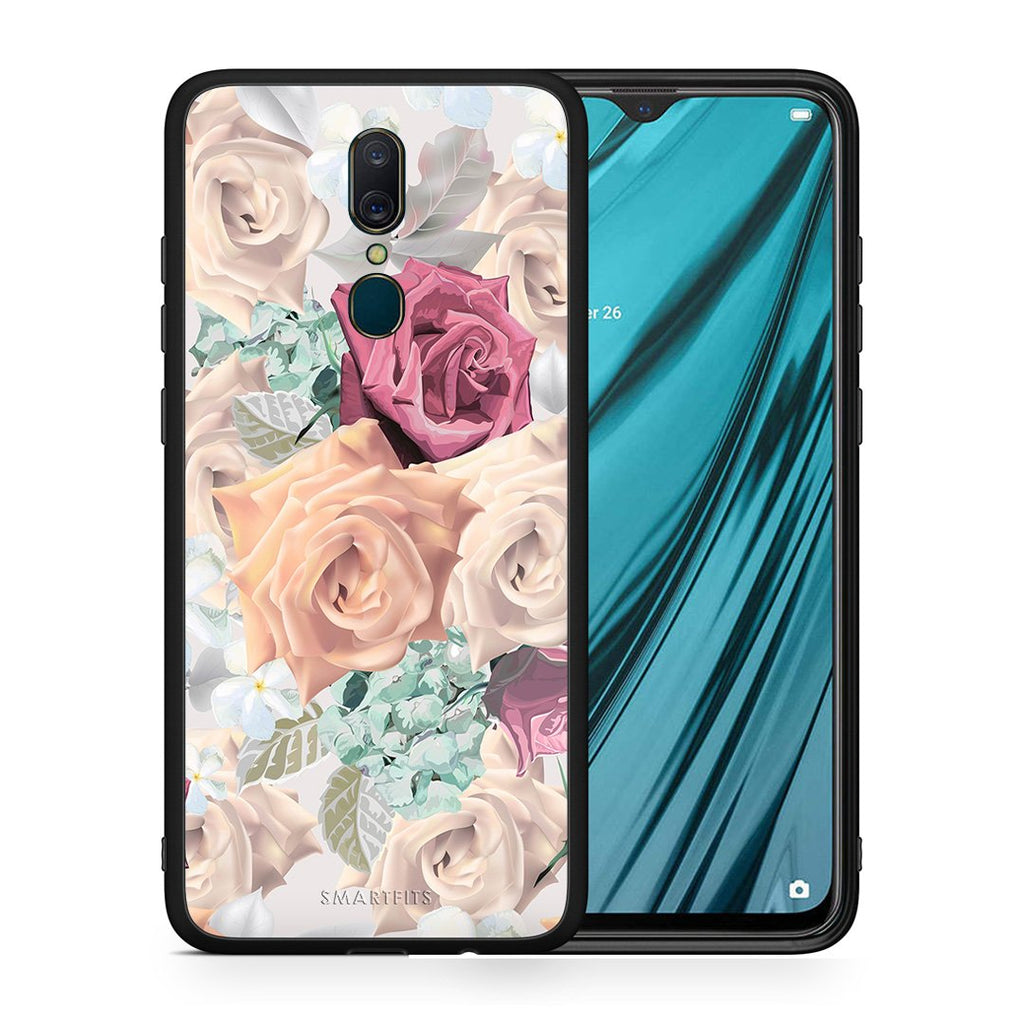 99 - Oppo A9  Bouquet Floral case, cover, bumper
