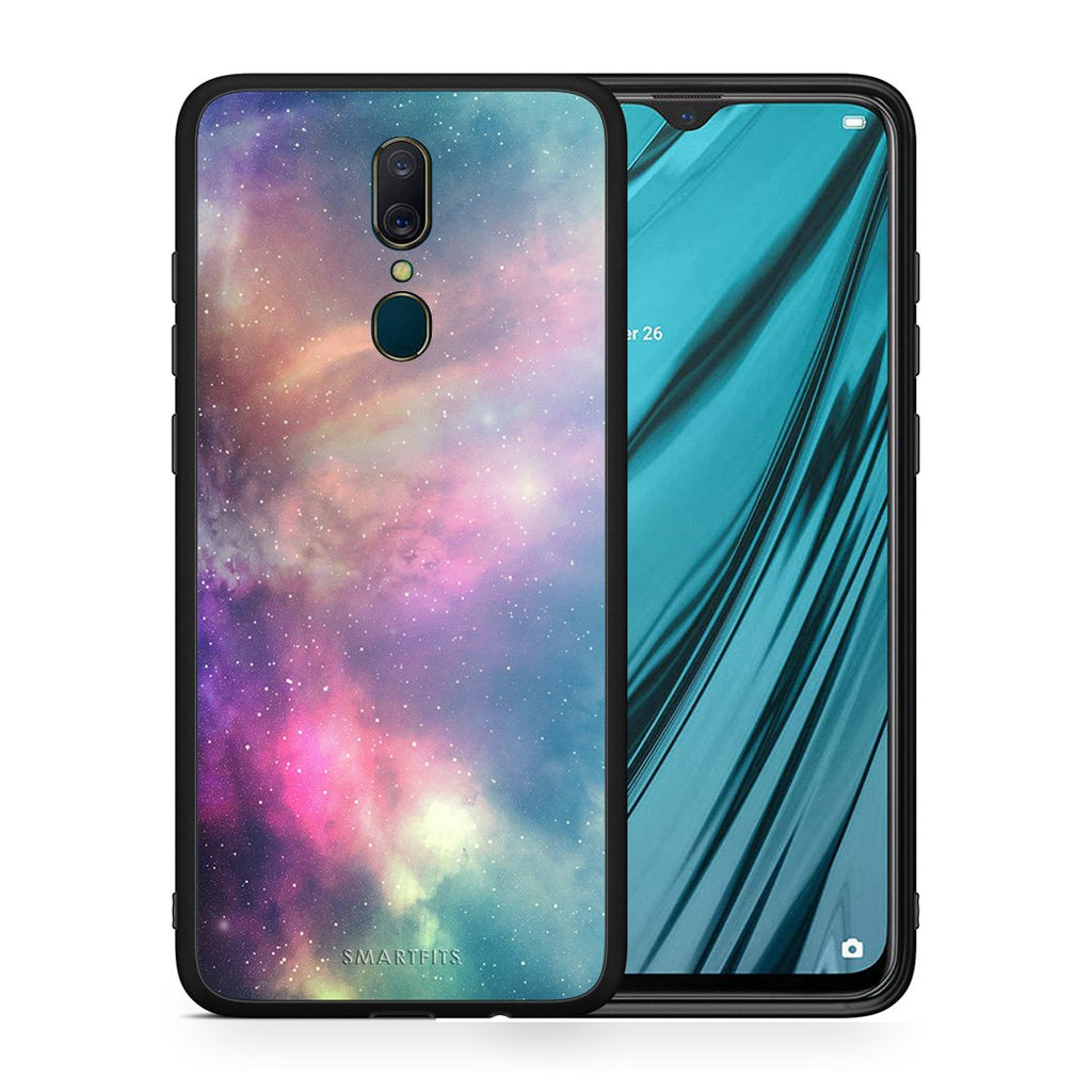 105 - Oppo A9  Rainbow Galaxy case, cover, bumper