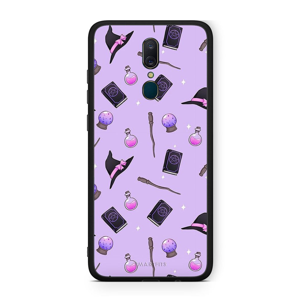4 - Oppo A9 Witch Halloween case, cover, bumper