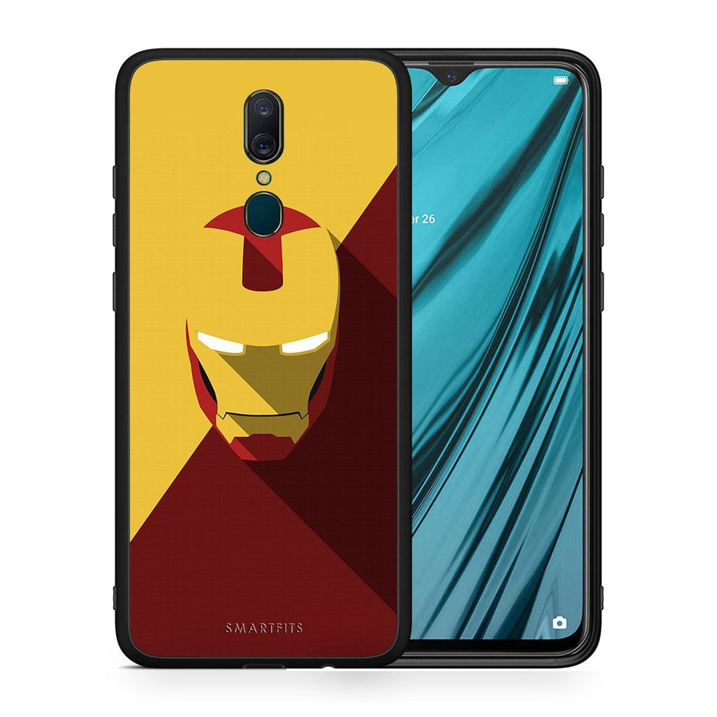 4 - Oppo A9 Iron man Hero case, cover, bumper