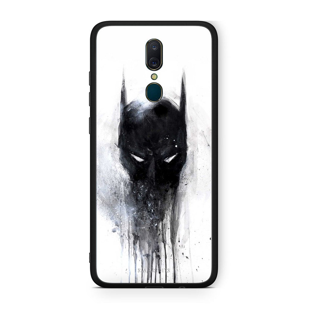 4 - Oppo A9 Paint Bat Hero case, cover, bumper
