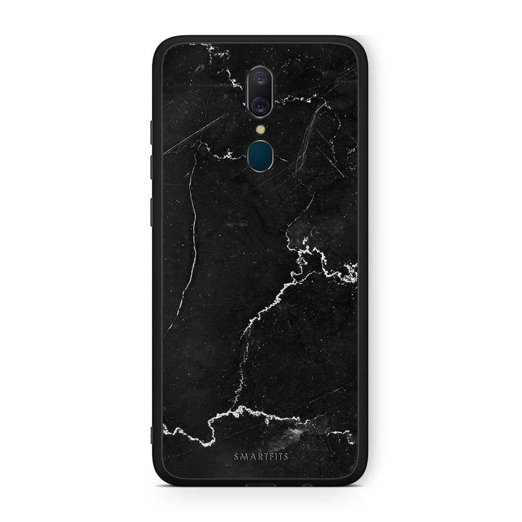 1 - Oppo A9  black marble case, cover, bumper