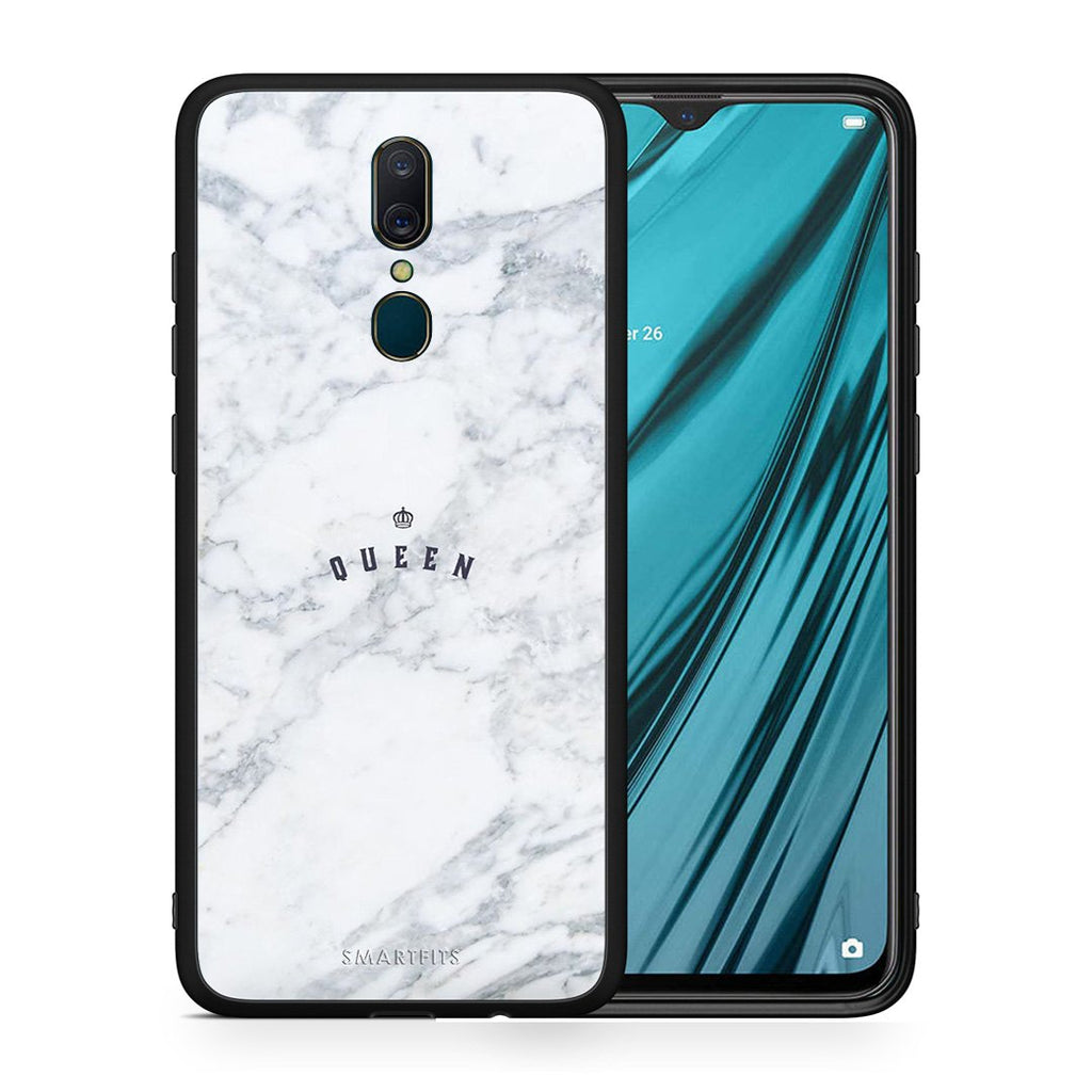 4 - Oppo A9 Queen Marble case, cover, bumper