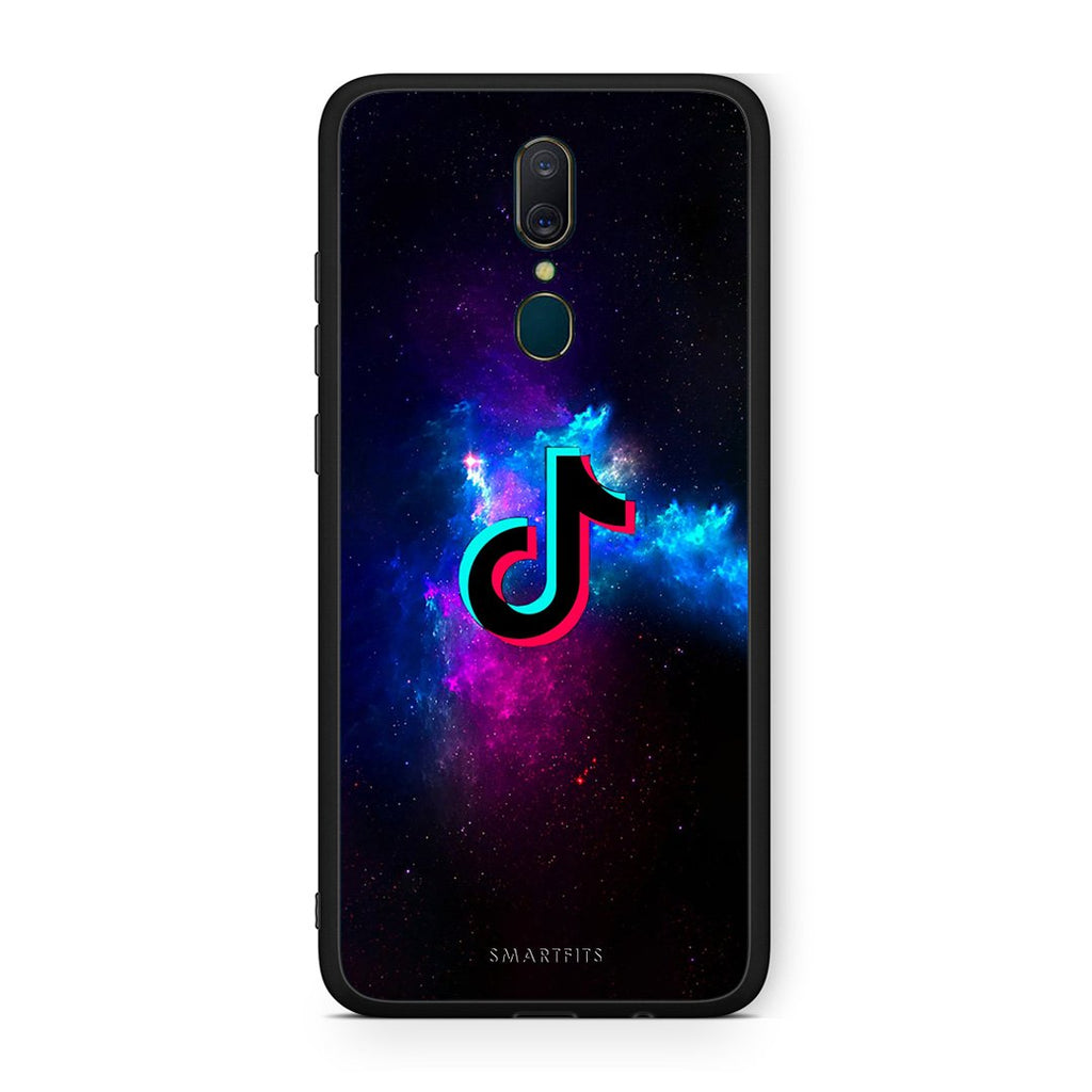 4 - Oppo A9 TikTok Text case, cover, bumper