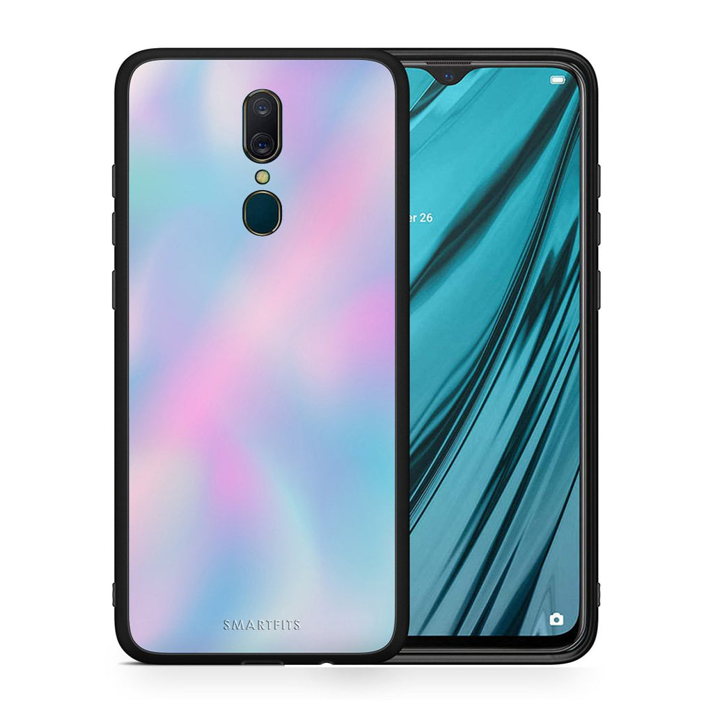 99 - Oppo A9  Watercolor Rainbow case, cover, bumper