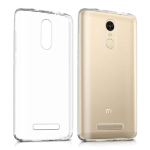 Transparent Gel Case for Xiaomi Redmi 5
