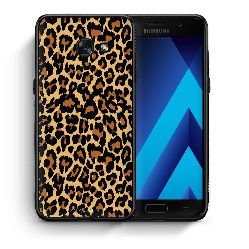 21 - Samsung A3 2017 Leopard Animal case, cover, bumper