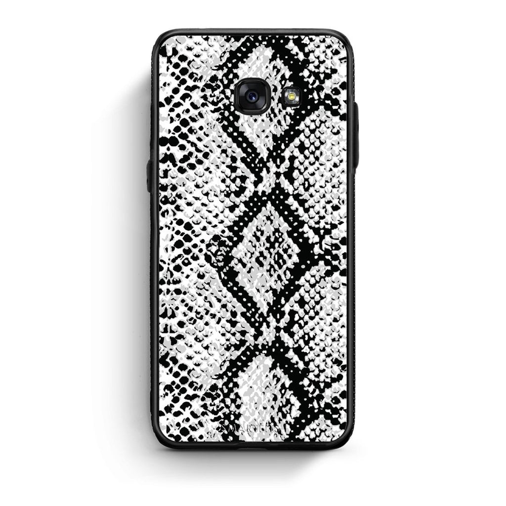 24 - Samsung A3 2017 White Snake Animal case, cover, bumper